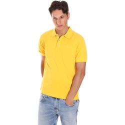 Oblačila Moški Polo majice kratki rokavi Ciesse Piumini 215CPMT21454 C0530X Rumena