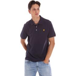 Oblačila Moški Polo majice kratki rokavi Ciesse Piumini 215CPMT21424 C0530X Modra
