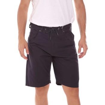 Oblačila Moški Kratke hlače & Bermuda Key Up 2P025 0001 Modra