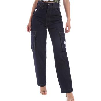 Oblačila Moški Jeans straight Karl Kani KRCKKMQ12036 Modra