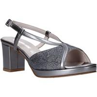 Čevlji  Ženske Sandali & Odprti čevlji Valleverde 45373 Siva