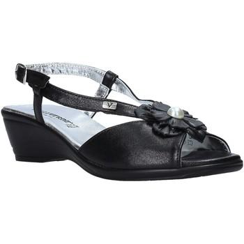 Čevlji  Ženske Sandali & Odprti čevlji Valleverde 33103 Črna