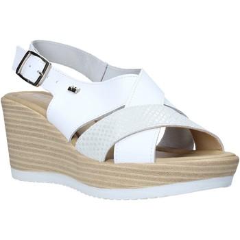 Čevlji  Ženske Sandali & Odprti čevlji Valleverde 32421 Biely