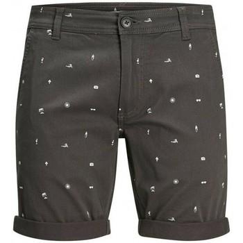 Oblačila Moški Kratke hlače & Bermuda Produkt Takm chino 12171311 Siva