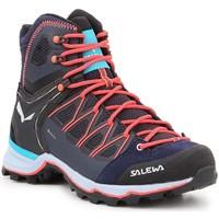 Čevlji  Ženske Pohodništvo Salewa Ws Mtn Trainer Lite Mid GTX 61360-3989 navy