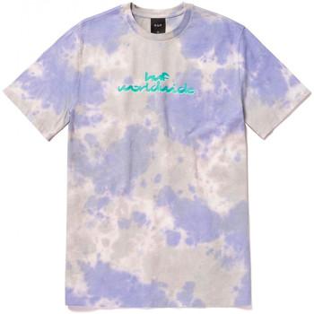 Oblačila Moški Majice s kratkimi rokavi Huf T-shirt chemistry ss Vijolična