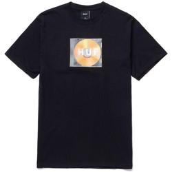 Oblačila Moški Majice s kratkimi rokavi Huf T-shirt mix box logo ss Črna