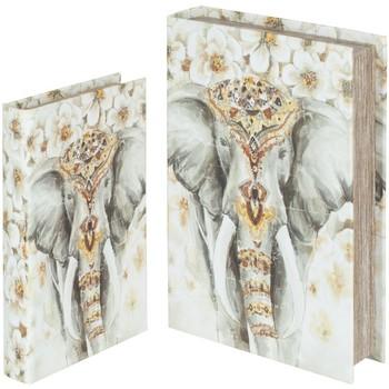 Dom Košare, škatle in košarice Signes Grimalt Slon Knjiga 2U Škatle V Septembru Multicolor