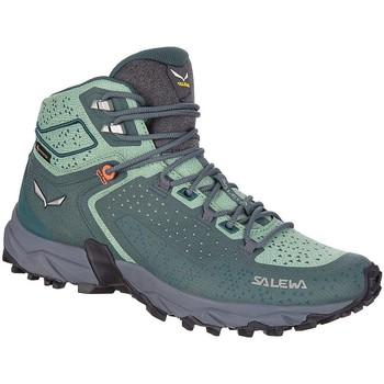 Čevlji  Ženske Pohodništvo Salewa WS Alpenrose 2 Mid GTX 61374-8540 green