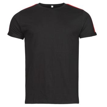 Oblačila Moški Majice s kratkimi rokavi Yurban  Črna