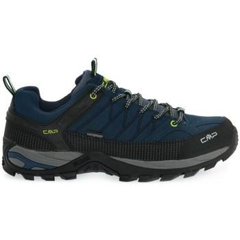 Čevlji  Moški Pohodništvo Cmp Rigel Low Črna, Mornarsko modra
