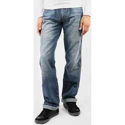 Oblačila Moški Jeans straight Wrangler Domyślna nazwa blue
