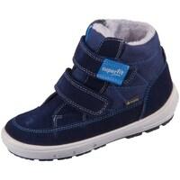 Čevlji  Otroci Škornji za sneg Superfit Groovy Modra, Mornarsko modra
