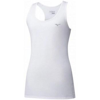 Oblačila Ženske Majice brez rokavov Mizuno Impulse Core Tank Bela