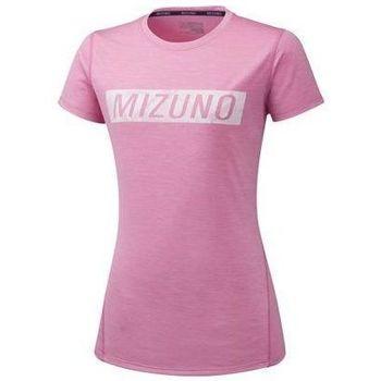 Oblačila Ženske Majice s kratkimi rokavi Mizuno Impulse Core Tee Roza
