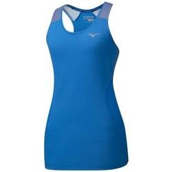 Oblačila Ženske Majice brez rokavov Mizuno Aero Tank Modra