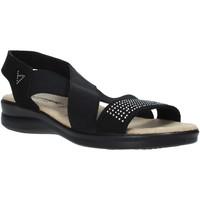 Čevlji  Ženske Sandali & Odprti čevlji Valleverde 25328 Črna