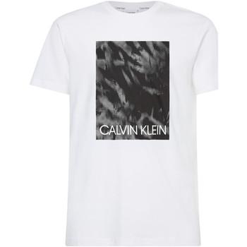 Oblačila Moški Majice s kratkimi rokavi Calvin Klein Jeans K10K106714 Biely