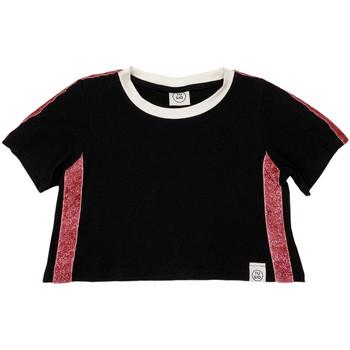 Oblačila Otroci Majice s kratkimi rokavi Naturino 6000719 01 Črna