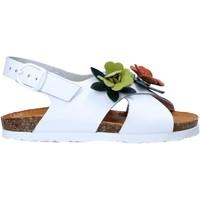 Čevlji  Deklice Sandali & Odprti čevlji Bionatura 22B 1047 Biely