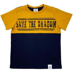 Oblačila Otroci Majice s kratkimi rokavi Naturino 6001018 01 Modra