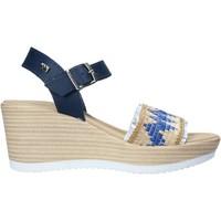 Čevlji  Ženske Sandali & Odprti čevlji Valleverde 32422 Modra