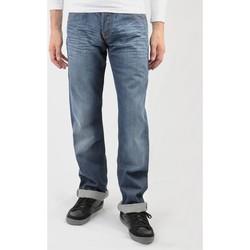 Oblačila Moški Jeans straight Lee Flint L702RNSM blue