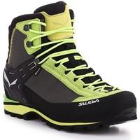Čevlji  Moški Pohodništvo Salewa Ms Crow GTX 61328-5320 black, green