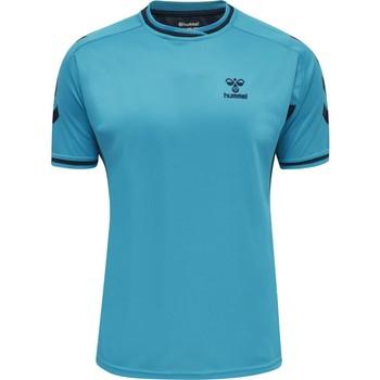 Oblačila Majice s kratkimi rokavi Hummel Maillot  Poly hmlACTION bleu/bleu marine