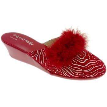 Čevlji  Ženske Cokli Milly MILLY300zebraross rosso