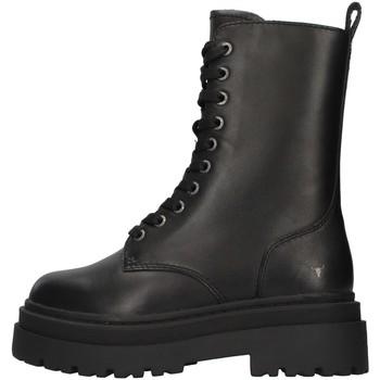 Čevlji  Ženske Gležnjarji Windsor Smith WSSPAYBACK BLACK