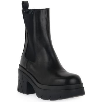 Čevlji  Ženske Gležnjarji Priv Lab NERO BEATLES Nero