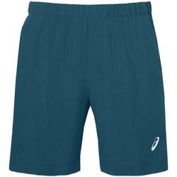 Oblačila Moški Kratke hlače & Bermuda Asics Icon Short Turkizna