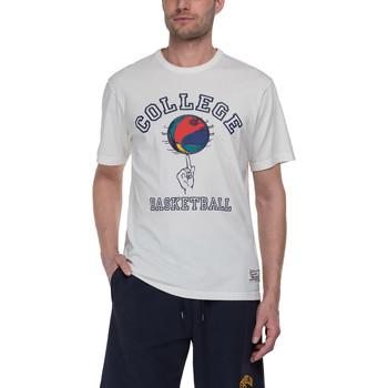 Oblačila Moški Majice s kratkimi rokavi Franklin & Marshall T-shirt Franklin & Marshall Classique gris