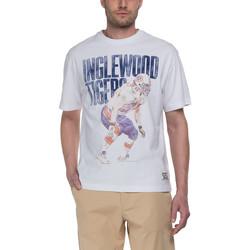 Oblačila Moški Majice s kratkimi rokavi Franklin & Marshall T-shirt Franklin & Marshall Classique blanc