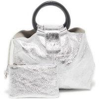 Torbice Ženske Ročne torbice Victor & Hugo ILANA ARGENT