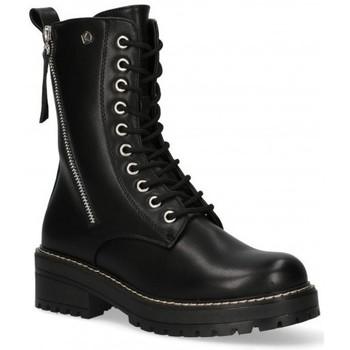 Čevlji  Ženske Polškornji Etika 55060 Črna