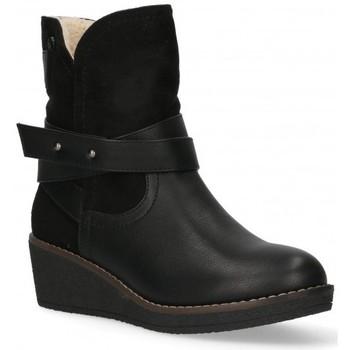 Čevlji  Ženske Gležnjarji Etika 55086 Črna