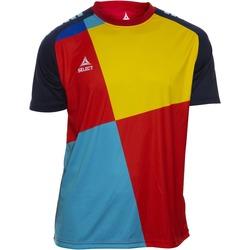 Oblačila Dečki Majice s kratkimi rokavi Select T-shirt enfant  Player Pop Art bleu/jaune/rouge