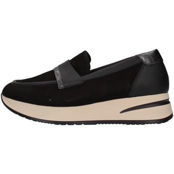 Čevlji  Ženske Mokasini Melluso R25057 BLACK