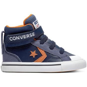 Čevlji  Otroci Visoke superge Converse Pro blaze strap hi Modra