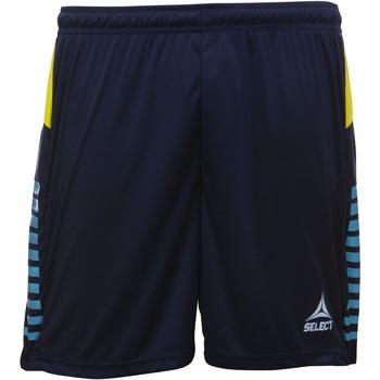 Oblačila Dečki Kratke hlače & Bermuda Select Short enfant  player pop art bleu marine/bleu clair/jaune