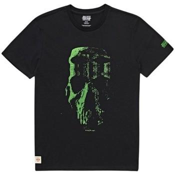 Oblačila Moški Majice s kratkimi rokavi Globe T-shirt  Refuse Skull noir