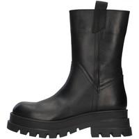 Čevlji  Ženske Gležnjarji Inuovo 818003 BLACK