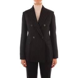 Oblačila Ženske Jakne & Blazerji Maxmara Studio SOLEDAD BLACK