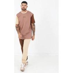 Oblačila Moški Majice s kratkimi rokavi Sixth June T-shirt  Tricolor Regular beige