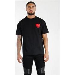 Oblačila Moški Majice s kratkimi rokavi Sixth June T-shirt  Oversize noir