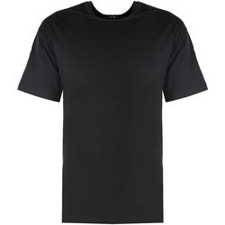 Oblačila Moški Majice s kratkimi rokavi Xagon Man  Črna