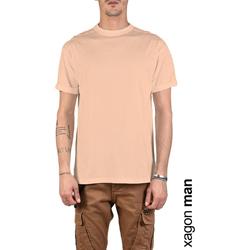 Oblačila Moški Majice s kratkimi rokavi Xagon Man  Rožnata