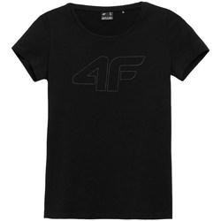 Oblačila Ženske Majice s kratkimi rokavi 4F TSD353 Črna